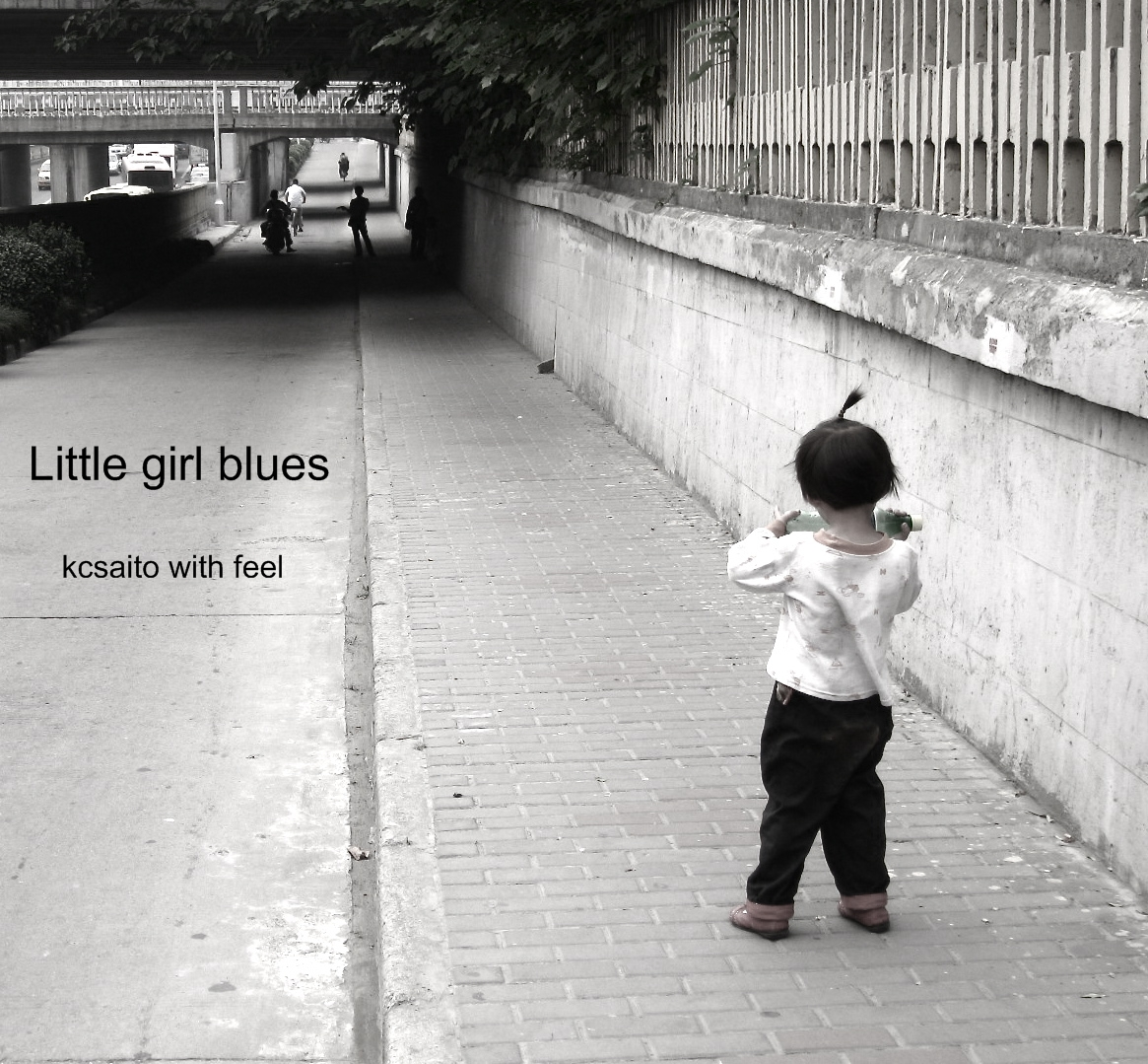 Little girl blues with feel