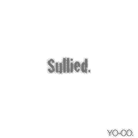 """Sullied. -""""flagments of Colors"""" piece 004:White-"""