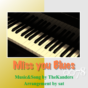 Miss you Blues -0078: collaboration  with TheKanders-