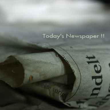 Today's Newspaper !!