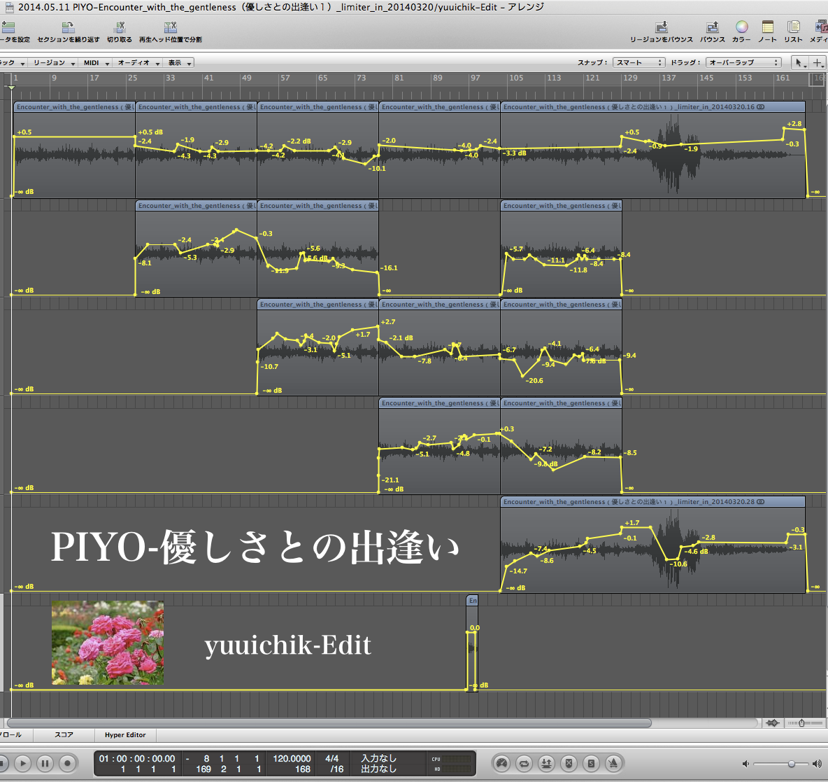 PIYO-Encounter with the gentleness/yuuichik-Edit