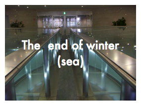 The end of winter(sea)
