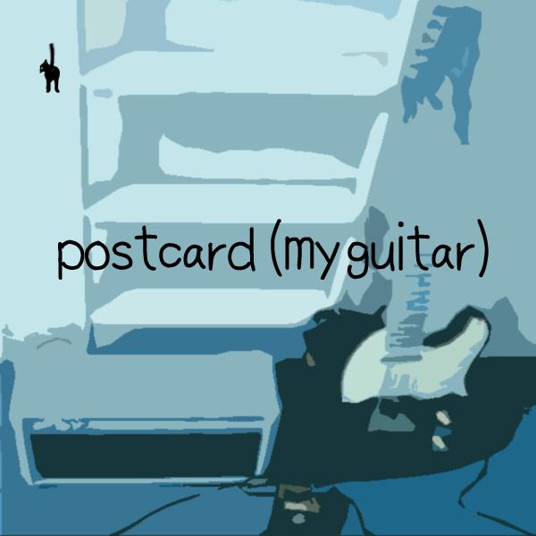 postcard (my guitar)