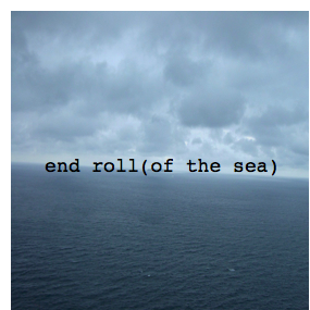 End roll(of the sea)