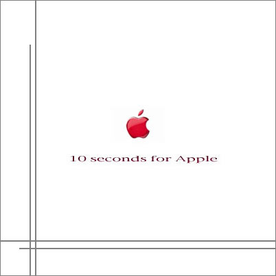 10 seconds for Apple